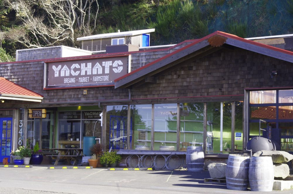 Foodies Adventure at Yachats Brewing