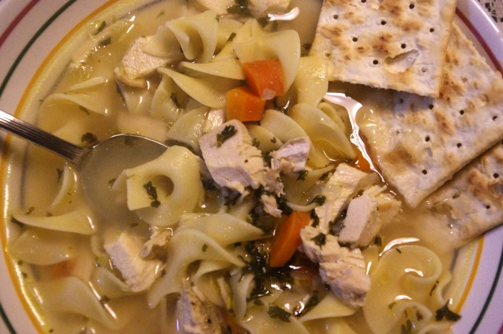 Beachin' Chicken Noodle Soup